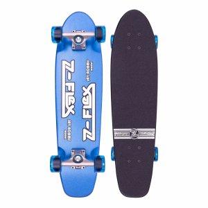 Круизер Z-flex Metal Flake. Цвет: голубой