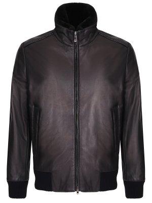 Куртка кожаная BILANCIONI
