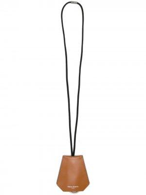 Ключница со шнурком на шею Maison Margiela. Цвет: нейтральные цвета