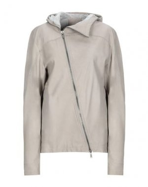 Куртка 10SEI0OTTO. Цвет: светло-серый
