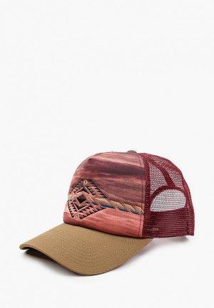 Бейсболка Buff Trucker Cap. Цвет: бордовый