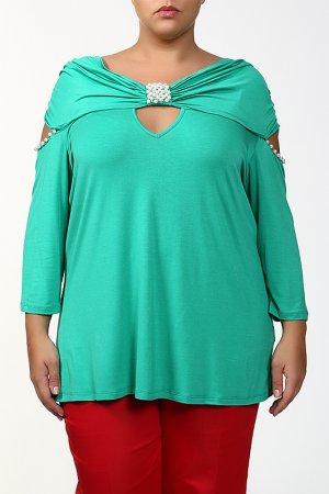 Блуза Giani Forte. Цвет: зеленый