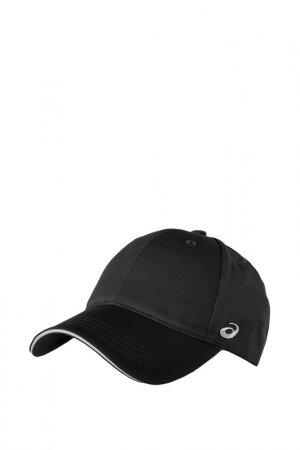Бейсболка Cotton Cap Asics. Цвет: черный
