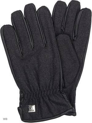 Перчатки Trussardi. Цвет: темно-серый