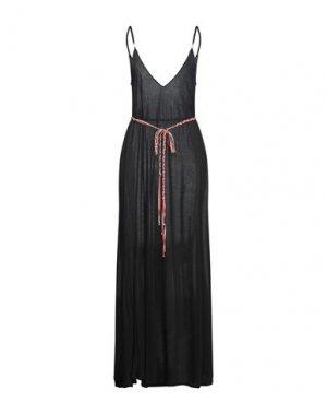 Длинное платье ALISA. Цвет: черный