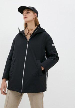 Куртка утепленная Max Mara Leisure OSCURO. Цвет: черный