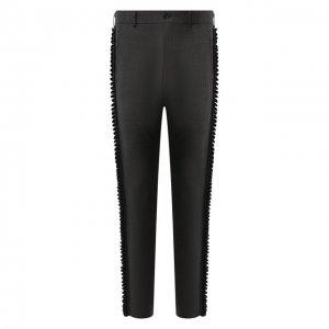 Шерстяные брюки Comme Des Garcons Homme Plus. Цвет: серый