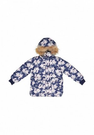Куртка утепленная Born. Цвет: синий