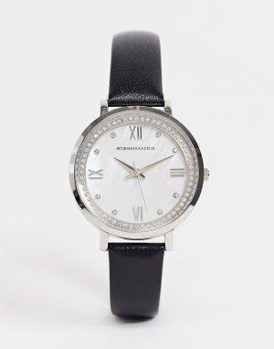 Часы с черным ремешком BCBG Max Azria-Черный цвет MaxAzria