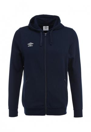 Толстовка Umbro BASIC FULLZIP HOODED SWEAT. Цвет: синий