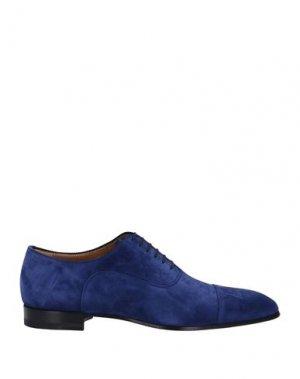 Обувь на шнурках CHRISTIAN LOUBOUTIN. Цвет: ярко-синий