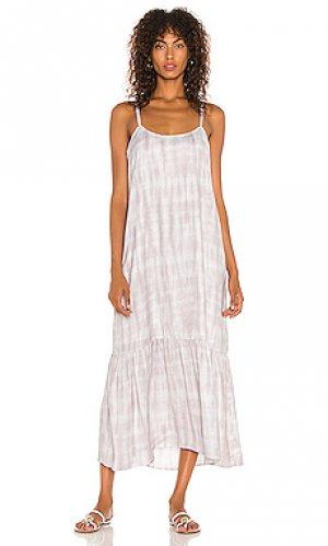 Макси платье marissa David Lerner. Цвет: бледно-лиловый