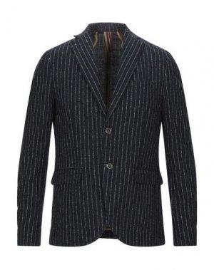 Пиджак SSEINSE. Цвет: ярко-синий