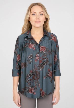 Блуза Akimbo. Цвет: серый
