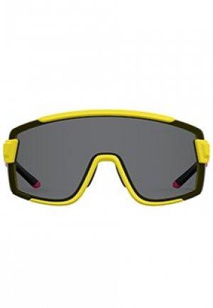 Солнцезащитные очки SMITH. Цвет: желтый