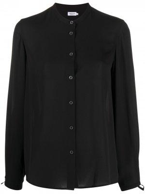 Блузка с воротником-стойкой Filippa K. Цвет: черный