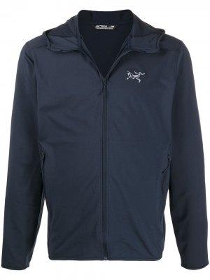 Arcteryx куртка Kyanite с капюшоном Arc'teryx. Цвет: синий