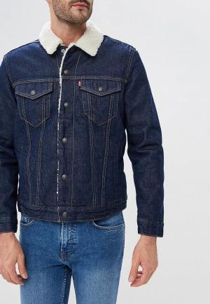 Куртка джинсовая Levis® Levi's® Trucker. Цвет: синий