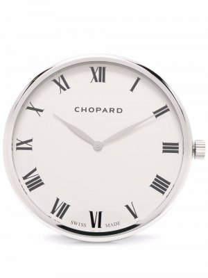 Настольные часы Chopard. Цвет: серебристый