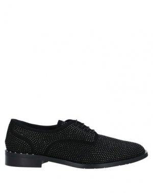 Обувь на шнурках EVALUNA. Цвет: черный