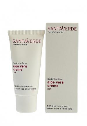 Крем для лица Santaverde питательный  Aloe Vera Basic сухой и чувствительной кожи