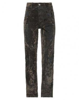 Повседневные брюки HIGH. Цвет: темно-зеленый