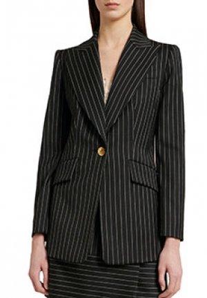 Пиджак LUISA SPAGNOLI. Цвет: черный