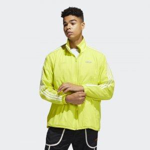 Олимпийка Reverse Originals adidas. Цвет: желтый