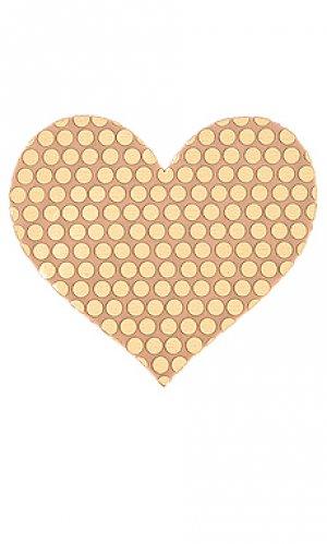 Накладки на соски superstar star Bristols6. Цвет: металлический золотой