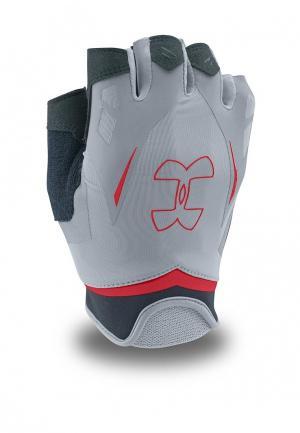 Перчатки для фитнеса Under Armour UA Flux Mens. Цвет: серый