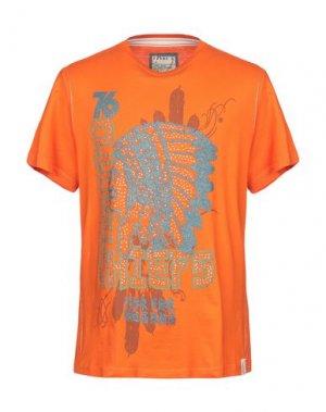 Футболка FRANK Q. Цвет: оранжевый