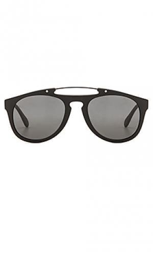 Солнцезащитные очки monaco illesteva. Цвет: черный