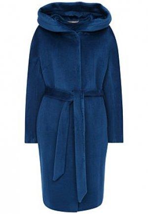 Шерстяное пальто с капюшоном Elema