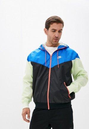 Ветровка Nike M NSW SPE WVN LND WR HD JKT. Цвет: разноцветный