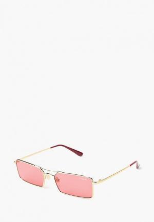 Очки солнцезащитные Vogue® Eyewear VO4106S 848/F5. Цвет: золотой