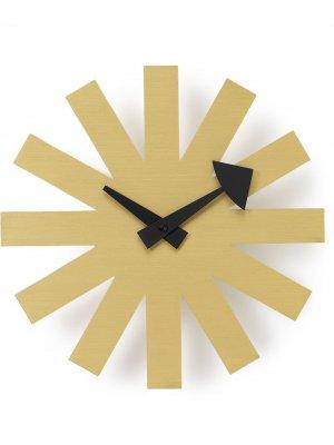 Настенные часы Asterisk Vitra. Цвет: золотистый