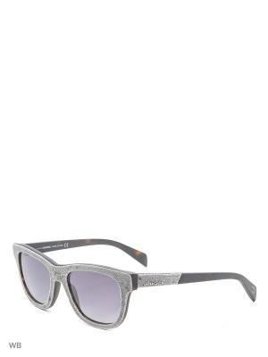 Солнцезащитные очки DL 0111 52B Diesel. Цвет: серый