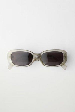 Солнцезащитные очки Run Weekday. Цвет: серый