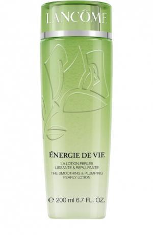 Преображающий лосьон для гладкой и сияющей кожи Énergie De Vie Lancome. Цвет: бесцветный