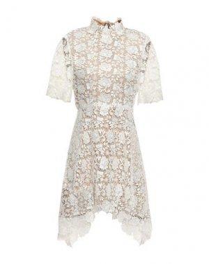 Короткое платье CATHERINE DEANE. Цвет: белый