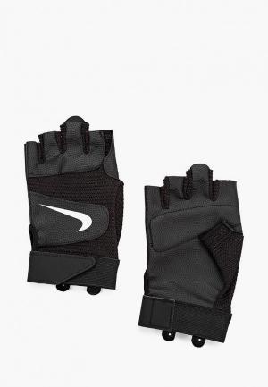 Перчатки для фитнеса Nike MENS LEGENDARY TRAINING GLOVES. Цвет: черный