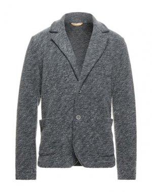 Пиджак BL.11 BLOCK ELEVEN. Цвет: свинцово-серый