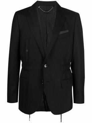 Однобортный пиджак Institutional Billionaire. Цвет: черный