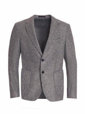 Костюмный пиджак Stones. Цвет: серый