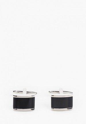 Запонки Franco Frego. Цвет: черный