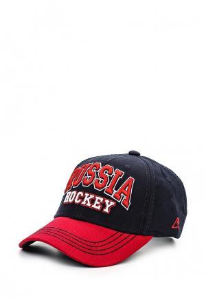 Бейсболка Atributika & Club™ Russia. Цвет: синий