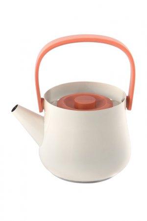 Чайник 2в1 BERGHOFF. Цвет: белый