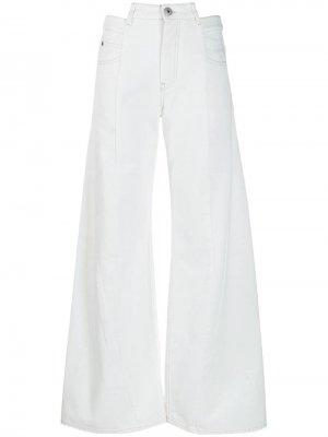 Широкие джинсы в технике Décortiqué Maison Margiela