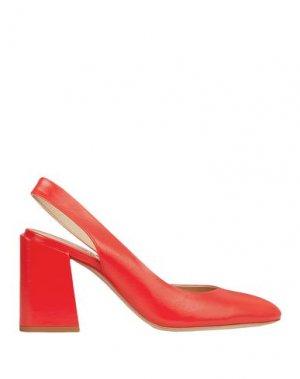 Туфли FURLA. Цвет: красный