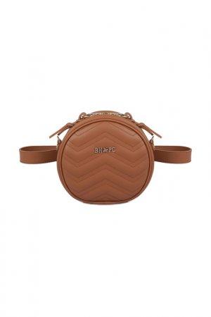 Поясная сумка Beverly Hills Polo Club. Цвет: коричневый